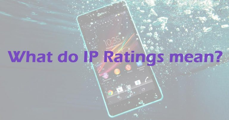 IP Ratings – what do they mean?