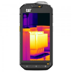Thermal Image of Smartphone CAT S60