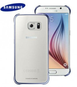 Galaxy S6 Clear View Cover Blue