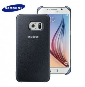 Galaxy S6 Protective Cover in Black