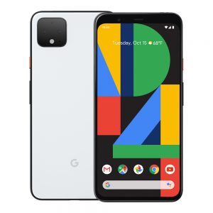 Google Pixel 4 Clearly in White