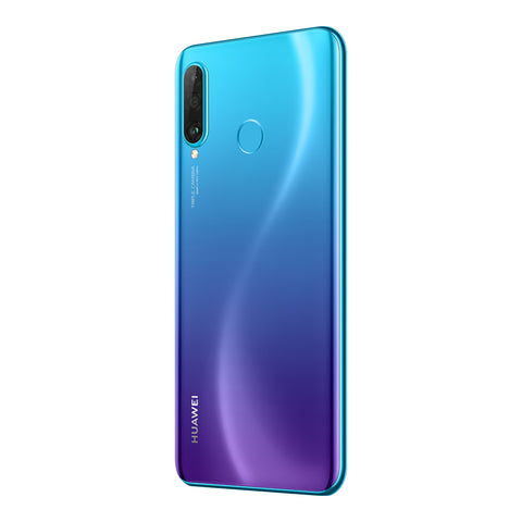 Back of Huawei P30 Lite in Blue