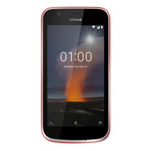 Nokia warm red front
