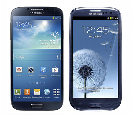 Samsung Galaxy S3 and Samsung Galaxy S4