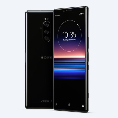 Sony-Xperia-1 in Black