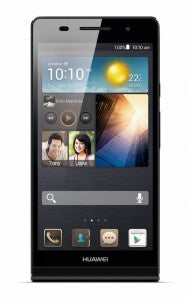 ascend p6 in black