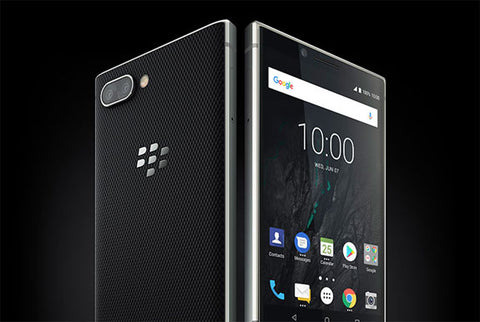 The Blackberry Key2 dualcam