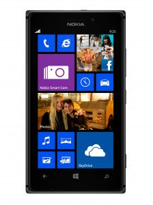 nokia lumia in black