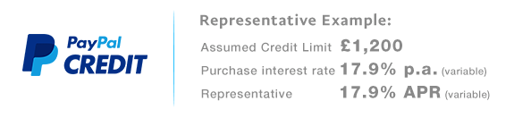 PayPal Credit Representative Example