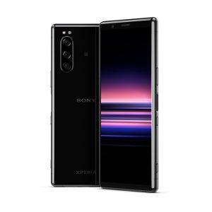 xperia 5 in black