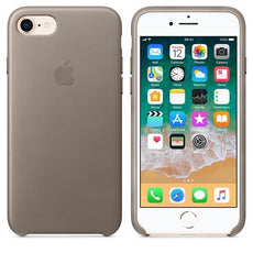 Apple iPhone 8 Leather Case - Taupe