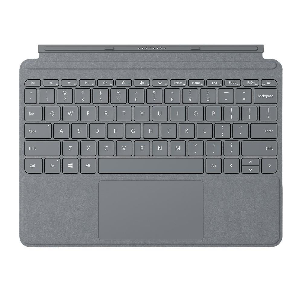 Microsoft Surface Go Signature Type Cover - Platinum - UK Layout