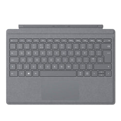 Microsoft Surface Pro Signature Type Cover - Platinum - UK Layout