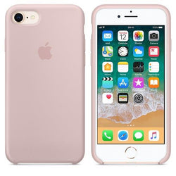 Apple iPhone 8 Silicone Case - Pink Sand