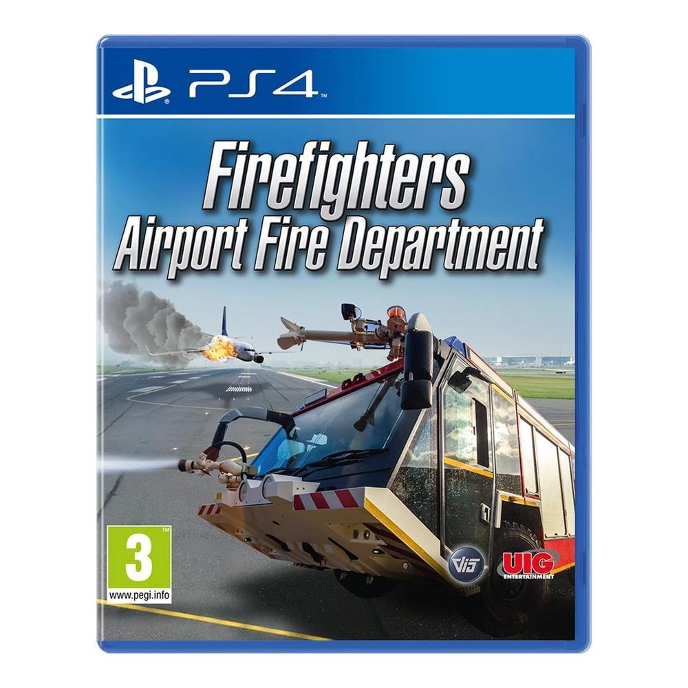 Firefighters Airport Simulation - PS4