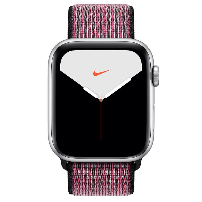Apple Watch Series 5  - Silver Aluminium - Nike Sport Loop
