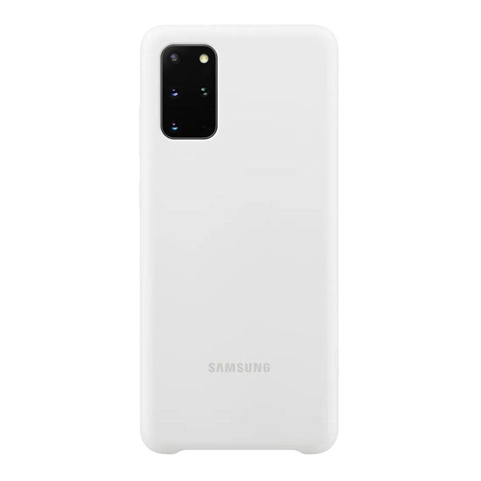 Samsung Galaxy S20 Plus Silicone Cover - White