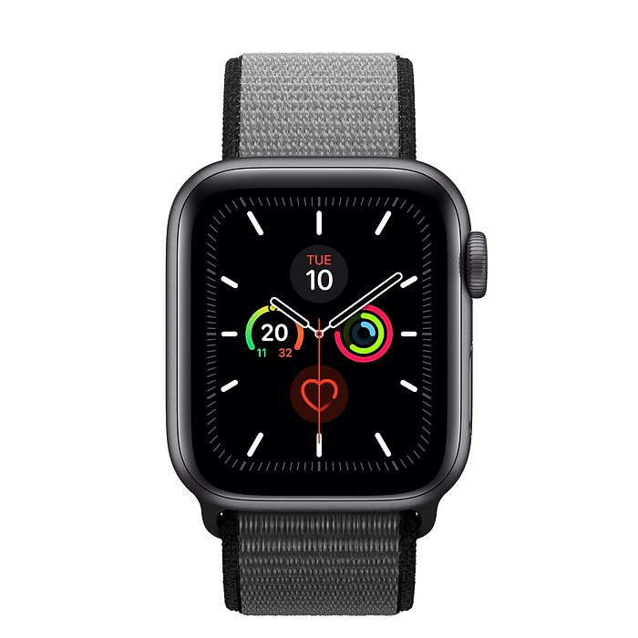 Apple Watch Series 5  - Space Grey Aluminium - Sport Loop