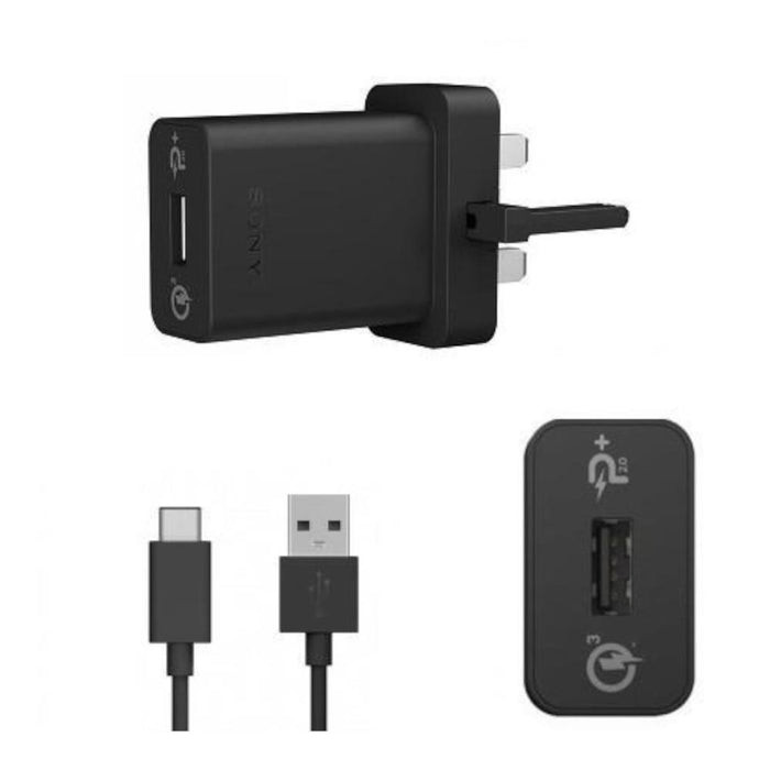 Sony UCH10 Quick Charger - UK - Black