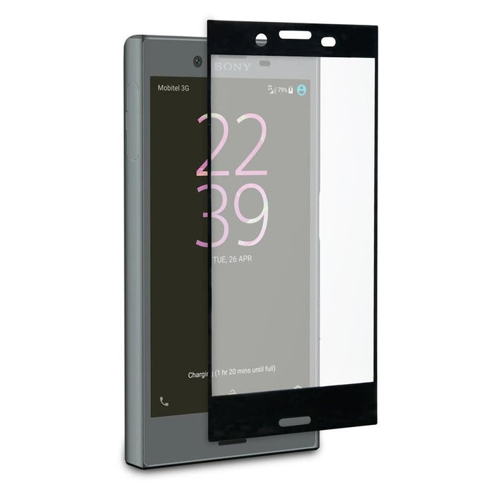 Sony Xperia XZ Pro Tempered Glass Screen Protector - Clear/Black