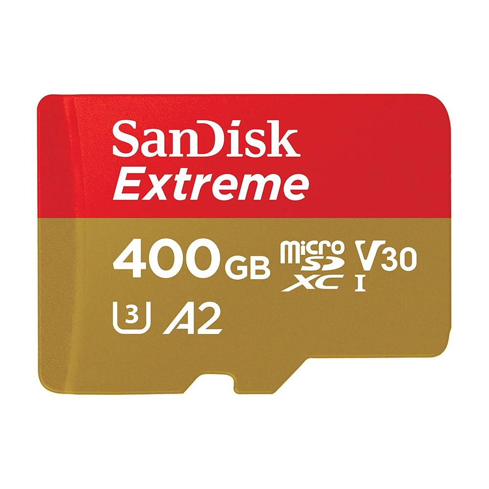 Sandisk Extreme A2 400GB Micro SD Memory Card with Adapter
