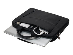 "DICOTA Slim Case BASE - Notebook carrying case - 15"" - 15.6"" - Black"