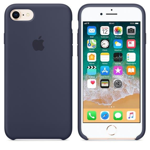 Apple iPhone 7 Silicone Case - Midnight Blue