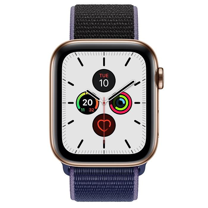 Apple Watch Series 5  - Gold Stainless Steel - Sport Loop