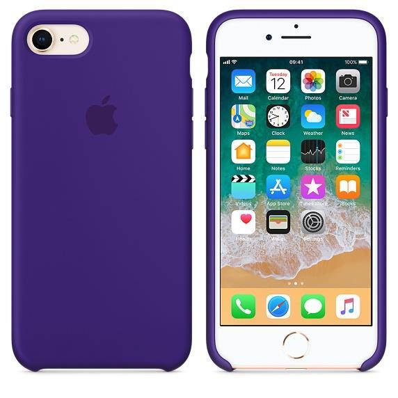 Apple iPhone 8 Silicone Case - Ultra Violet