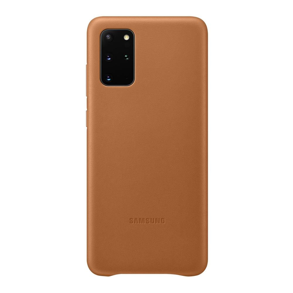 Samsung Galaxy S20 Plus Leather Cover - Brown