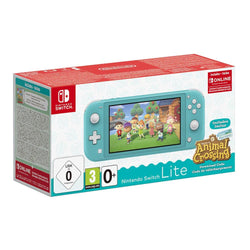 Nintendo Switch Lite - Turquoise- Animal Crossing New Horizons