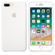 Apple iPhone 8 Plus Silicone Case - White