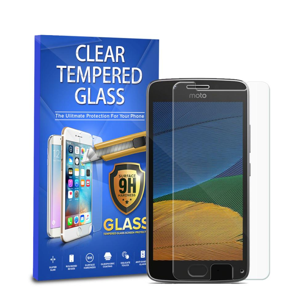 Tempered Glass Screen Protector - Moto G5 - 1pc