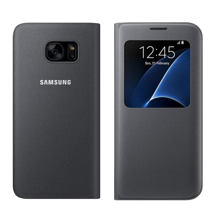 Samsung Galaxy A5 (2017 Edition) S View Cover - Black