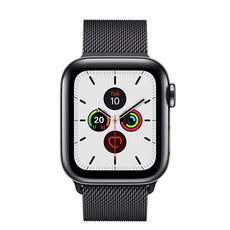 Apple Watch Series 5  - Space Black Stainless Steel - Milanese Loop