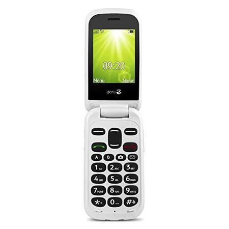 Doro 2404 - UK Model - Dual SIM / Black / N/A (Feature Phone)