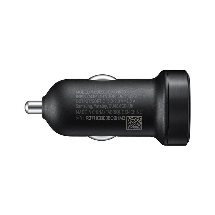 Samsung Adaptive Fast Charging Car Charger - Black - EP-LN930CB