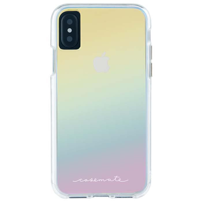 Case-Mate Naked Tough Case - iPhone Xs - Iridescent
