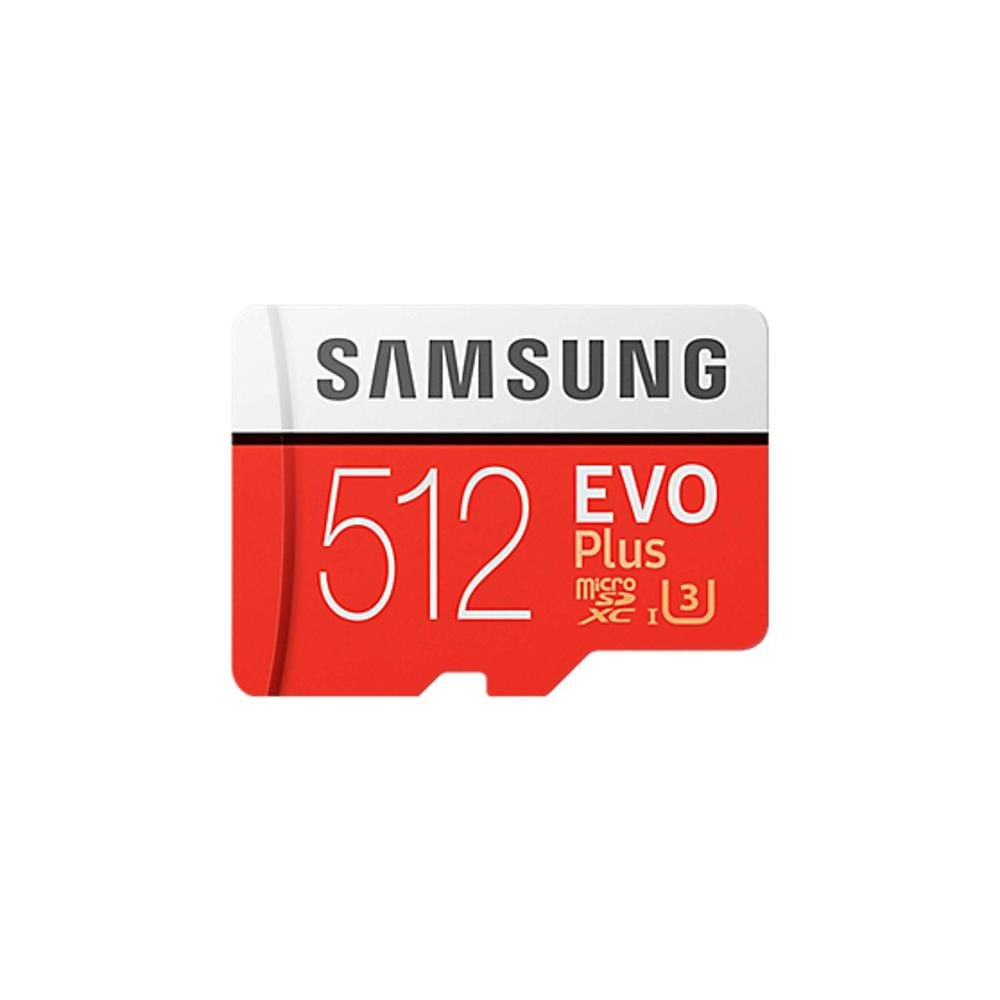 Samsung Evo Plus U3 512GB Micro SD Memory Card with Adapter