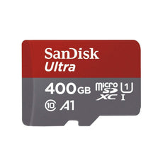 Sandisk Ultra A1 400GB Micro SD Memory Card with Adapter