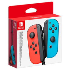 Nintendo Switch Joy-Con Set - Neon Red and Blue