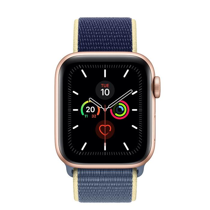 Apple Watch Series 5  - Gold Aluminium - Sport Loop