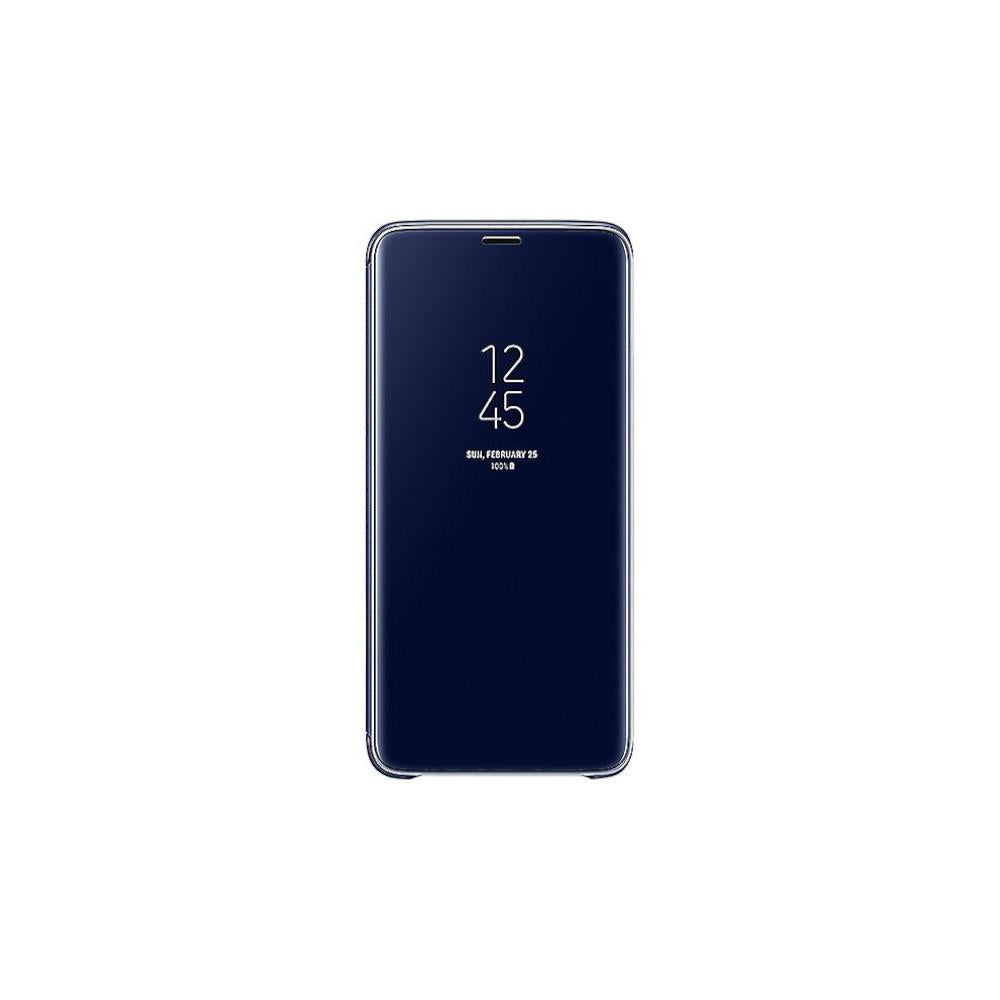Samsung Galaxy S9 Plus Clear View Standing Cover - Blue