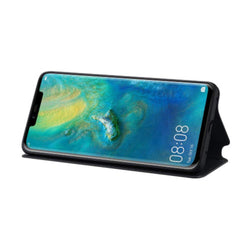 Huawei Mate 20 Pro Wallet Cover - Black