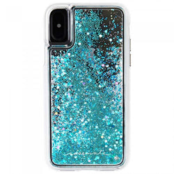 Case-Mate Naked Waterfall Case - iPhone Xs - Teal