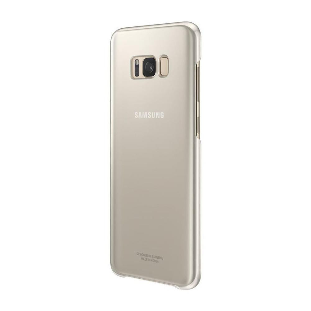 Samsung Galaxy S8 Plus Clear Cover Case - Gold
