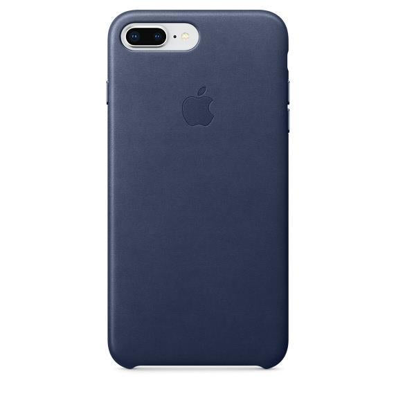 Apple iPhone 8 Plus Leather Case - Midnight Blue