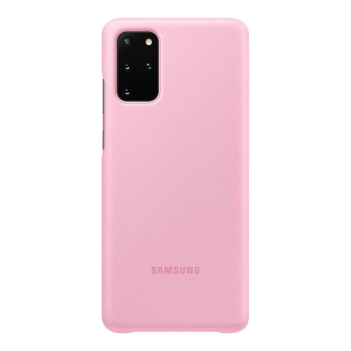 Samsung Galaxy S20 Plus Clear View Cover - Pink