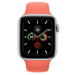 Apple Watch Series 5  - Silver Aluminium - Sport Band