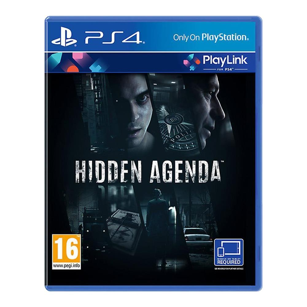 Hidden Agenda - PlayLink - PS4